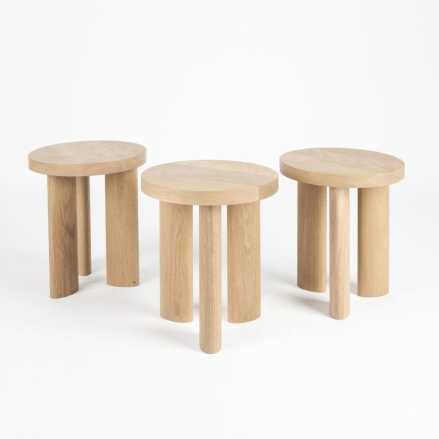 Jamie Gray / Matter Made / Orbit Stool / White Oak