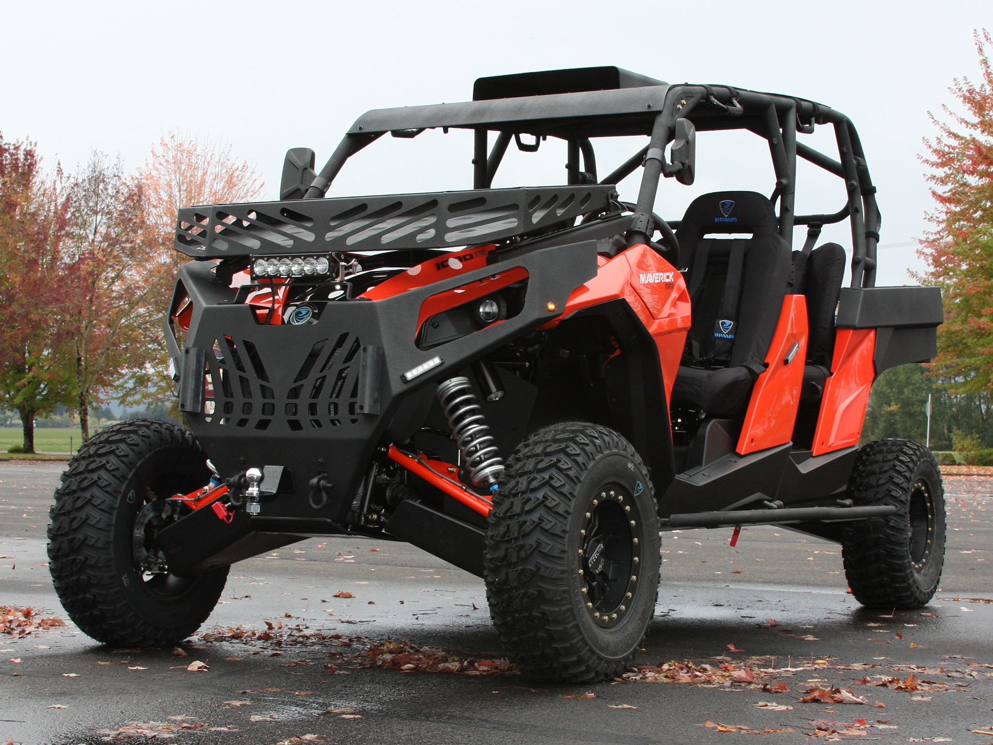Strike M4 Built From A Can Am Maverick 4 Seater Monster Trucks Can Am Agile