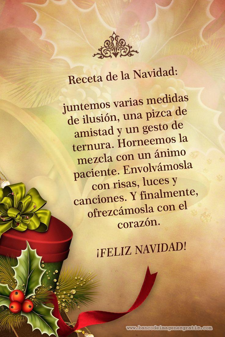 Receta De La Navidad Postal Para Enviar Nº19588 Http