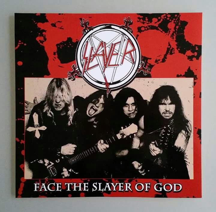 Bootleg Slayer Lp Slayer Metal Bands Heavy Metal
