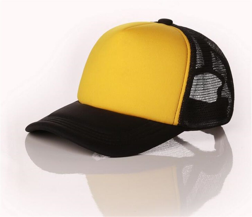 85e27489 10pcs/Lot Men DIY Painting Trucker Mesh Hats Summer Women Blank Mesh Snapback  Cap Spring