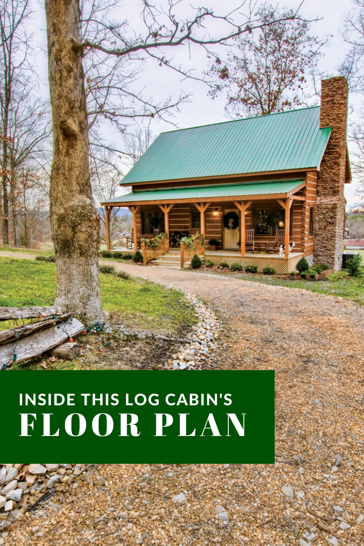 Floor Plan Look Inside This Timeless And Historical Log Home Small Cabin Plans Log Cabin Floor Plans Cabin Floor Plans
