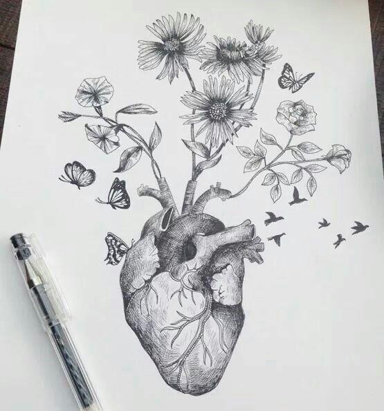 Drawing by Italian artist Alfred Basha   Beautiful Hearts, Alfred ...