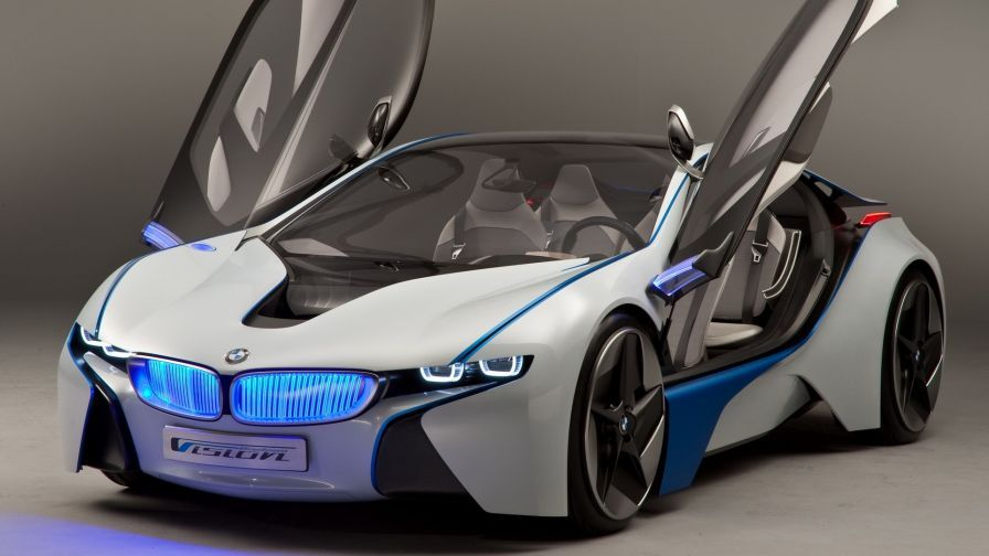 Bmw Vision Front View Hd Wallpaper Wallpapers Net Sports Car Wallpaper Bmw Sport Pictures Of Sports Cars