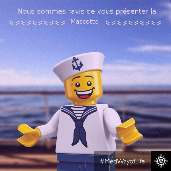 Libérez la créativité de vos enfants (entre 7-11ans), explorez de nouveaux horizons avec LEGO .#MSCArmonia #playtime