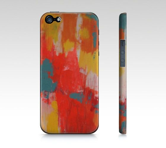 iPhone 5 Case Original Art Abstract Painting iPhone 4, 4s, 5, 5s, Samsung Galaxy S3, S4