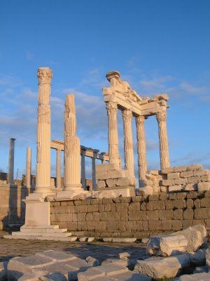 You know, the libraries in Celsus, Pergamum, Alexandria and a handful of other…