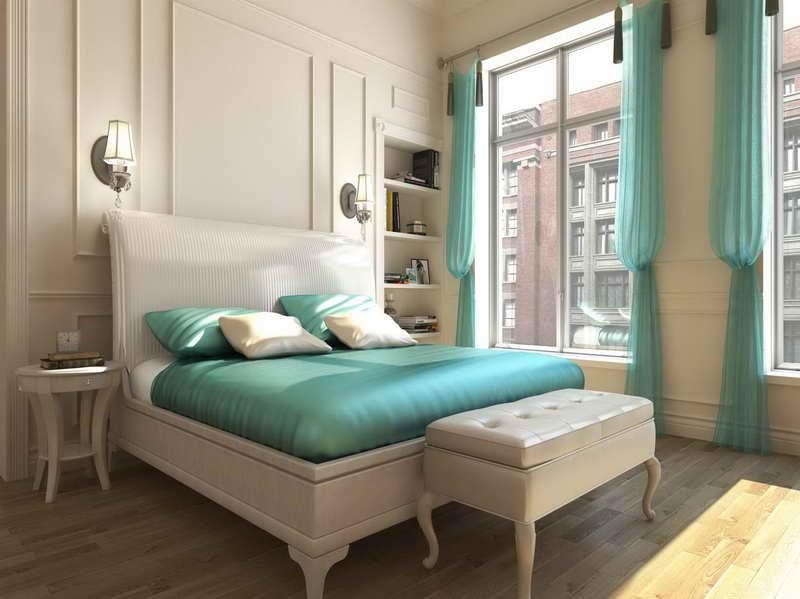 Turquoise Color Bedroom Ideas Part - 21: Turquoise And Brown Bedroom Ideas Best Paint Color Combinations With Plain  Color Bed