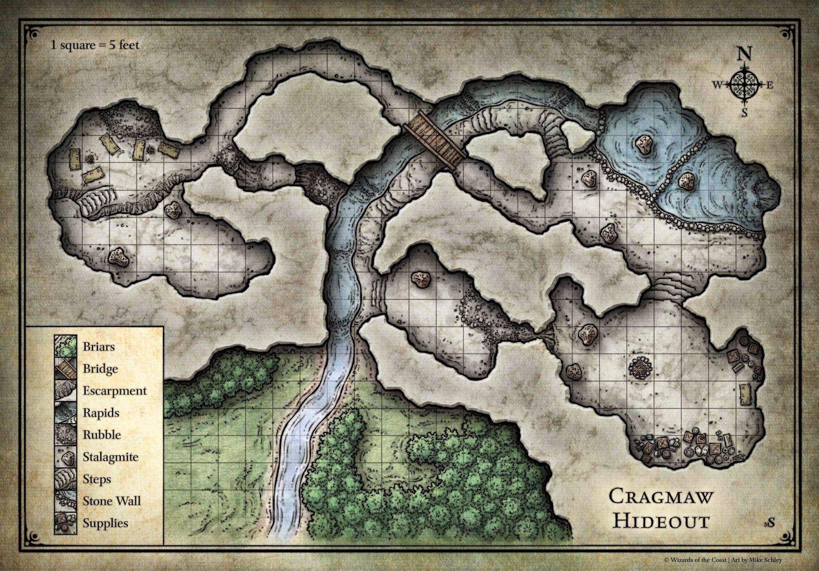 My Realms: Starter Set Sandbox 5 - Cragmaw Hideout, Cragmaw Castle, and the Cragmaw Goblins