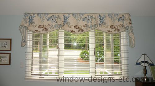 Beach Theme Valances On Cape Cod Featuring Underwater Theme Plants