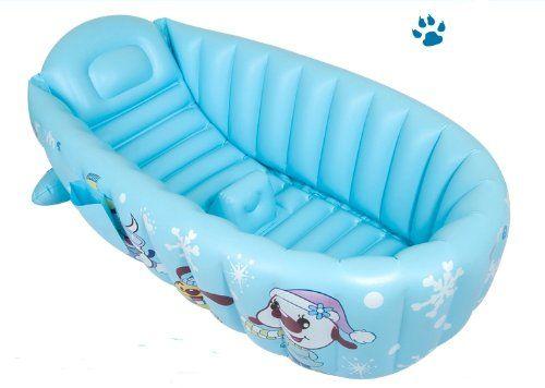 Baignoire Gonflable Pour Bebe Baignoire Bain Pour La Douche De Bebe Grande Taille L Bleu Amazon Fr Bebes Baignoire Gonflable Douche De Bebe Baignoire
