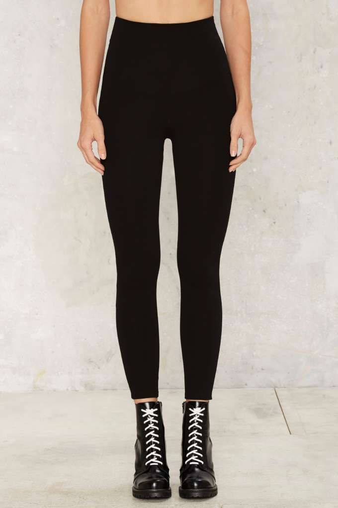 Perfect Strangers High-Waisted Leggings - Black - Clothes | Legging