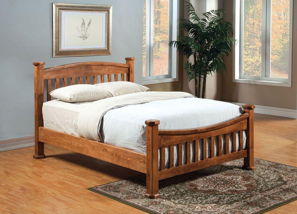 Furniture Of America AM7962CK Oak Finish Mission Style