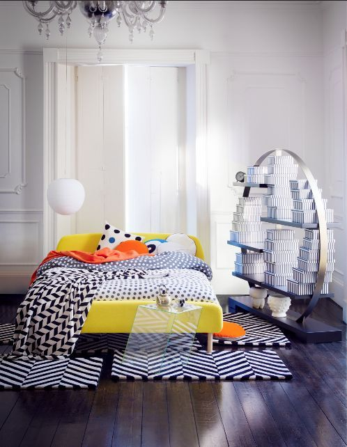 Pop Art Takes Physical Form In This Contemporary Bedroom Bold