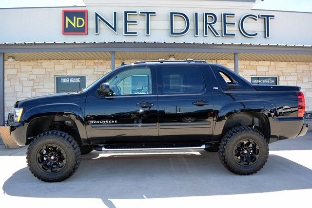 Net Direct Trucks >> 2012 Chevrolet Avalanche Lt Z71 Lifted 4x4 Fort Worth Tx