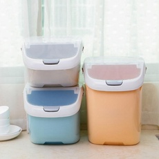 Ters1 6kg 10kg 15kg Moisture Proof Dry Food Sealed Box Rice Storage Container Kitchen Organization Wish In 2020 Grain Storage Food Storage Boxes Storage Containers
