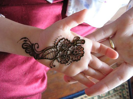 Mehndi For Baby : Easy simple mehndi designs for kids hennas and