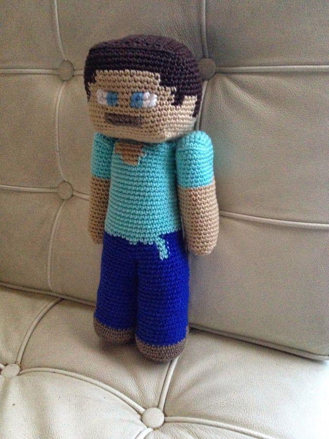 STEVE DE MINECRAFT | Minecraft, Niños jóvenes y Los muñecos