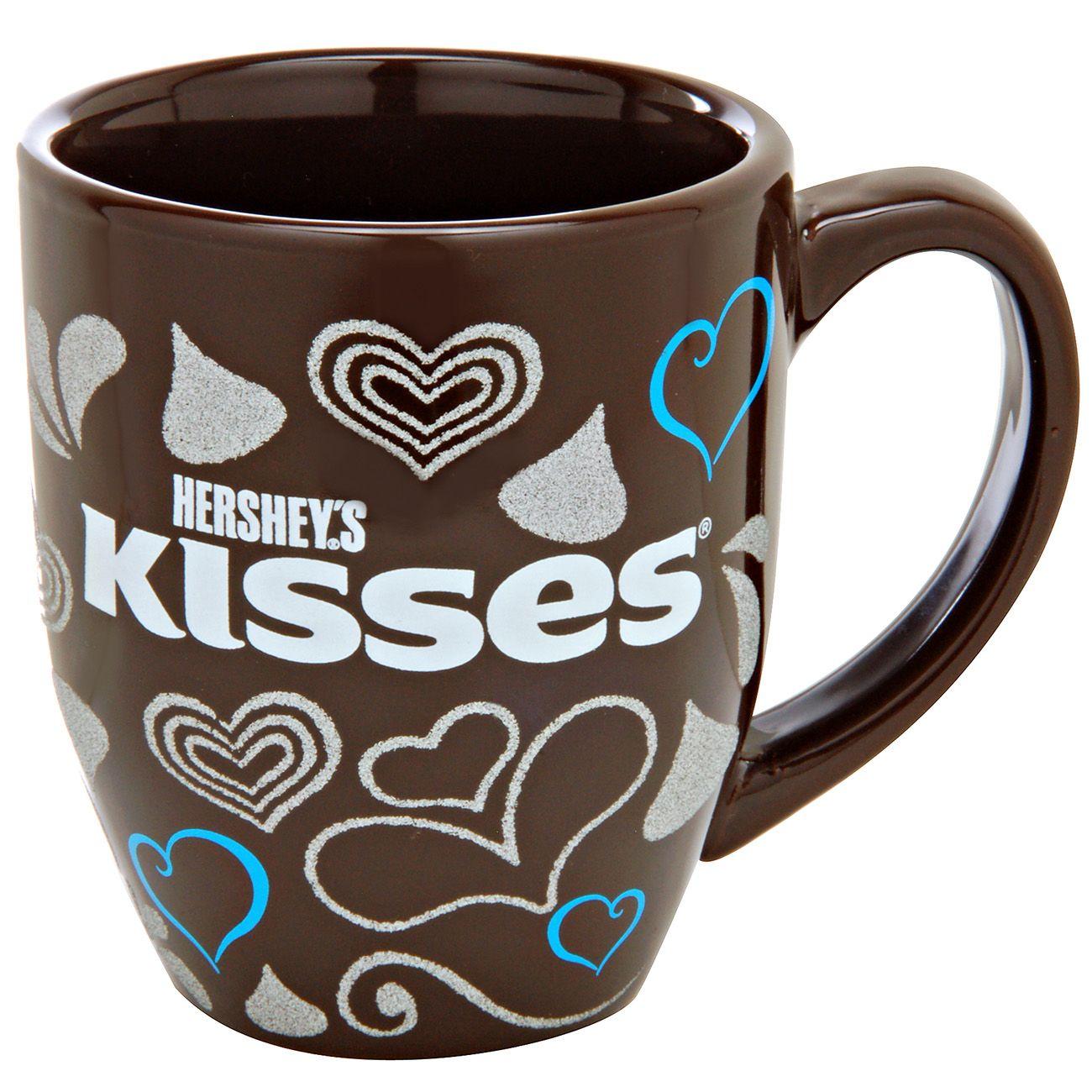 Hersheys kisses glitter hearts mug this rich chocolate