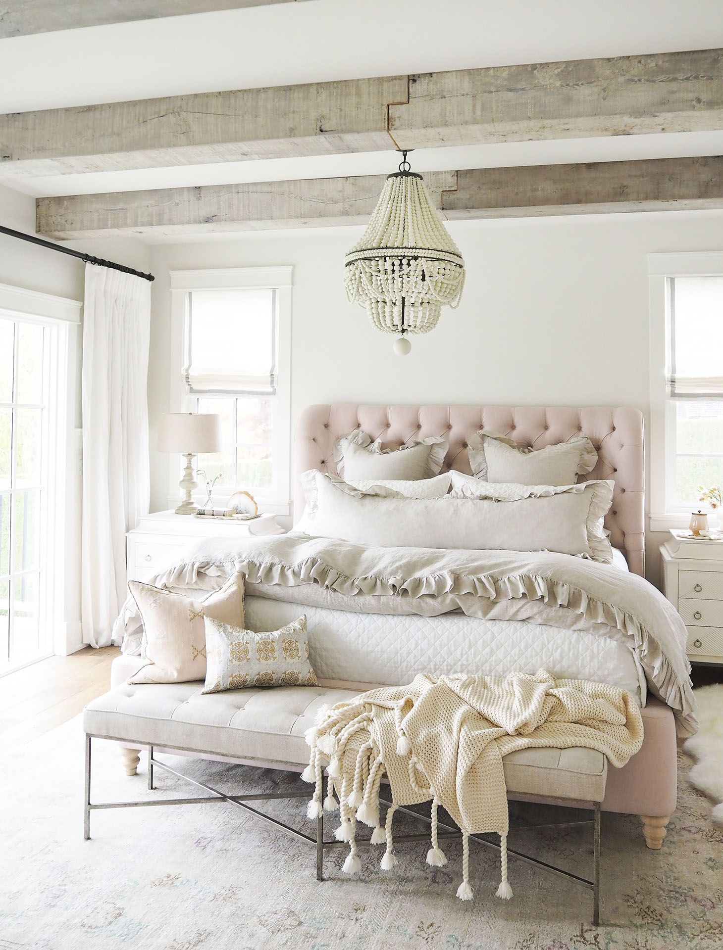 Revealed: My Dreamy Pink Bedroom (And A Giveaway