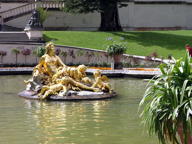 Pin Von Judy Montey Auf Fountains Schloss Linderhof Linderhof Und Schloss