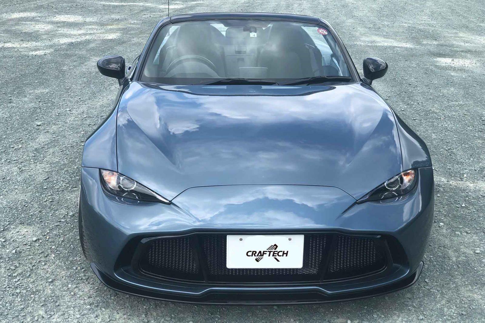 Mazda Mx 5 Gets Aston Martin Makeover With Simple Body Kit Only In Japan In 2021 Mazda Mazda Mx5 Aston Martin