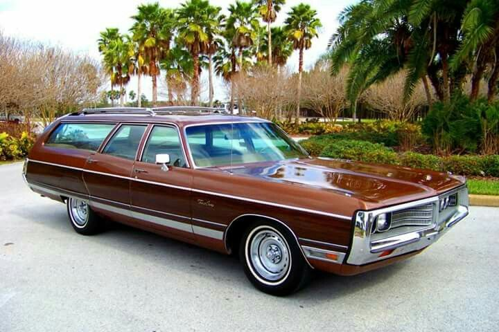 1972 Chrysler New Yorker Town And Country Chrysler Town And