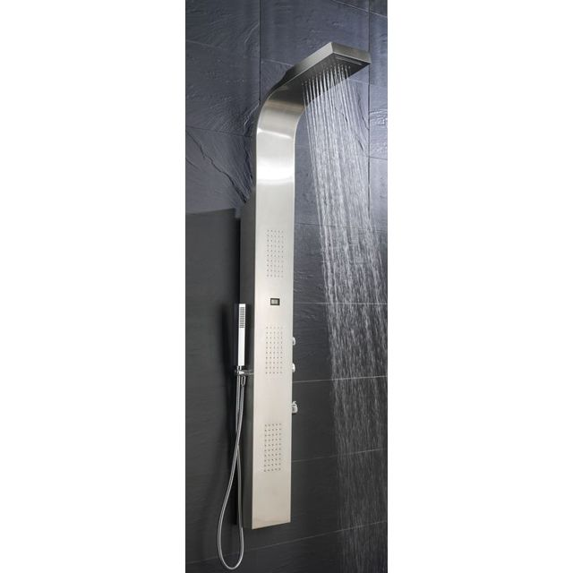 colonne de douche hydro cascada inox