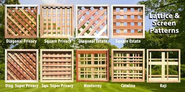 Redwood Lattice Braundera Com Privacy Fence Landscaping