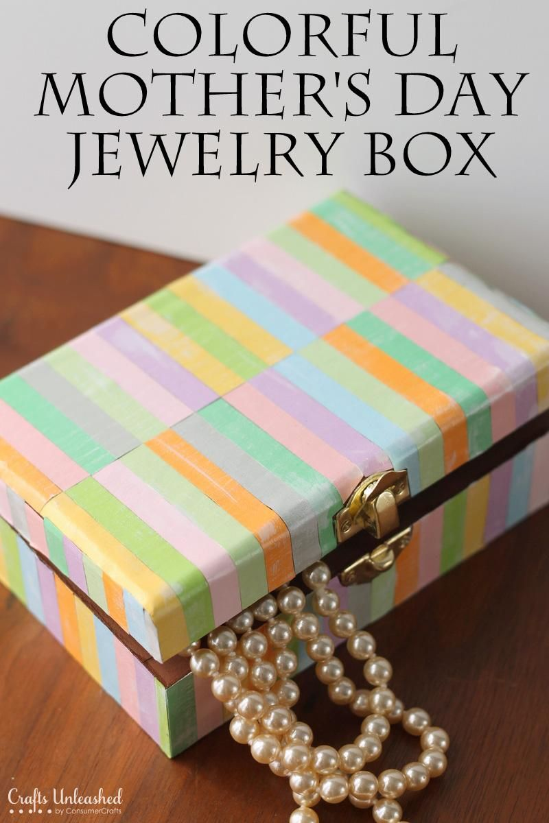 Diy Mother S Day Diy Jewelry Box Perfect For Mother S Day With