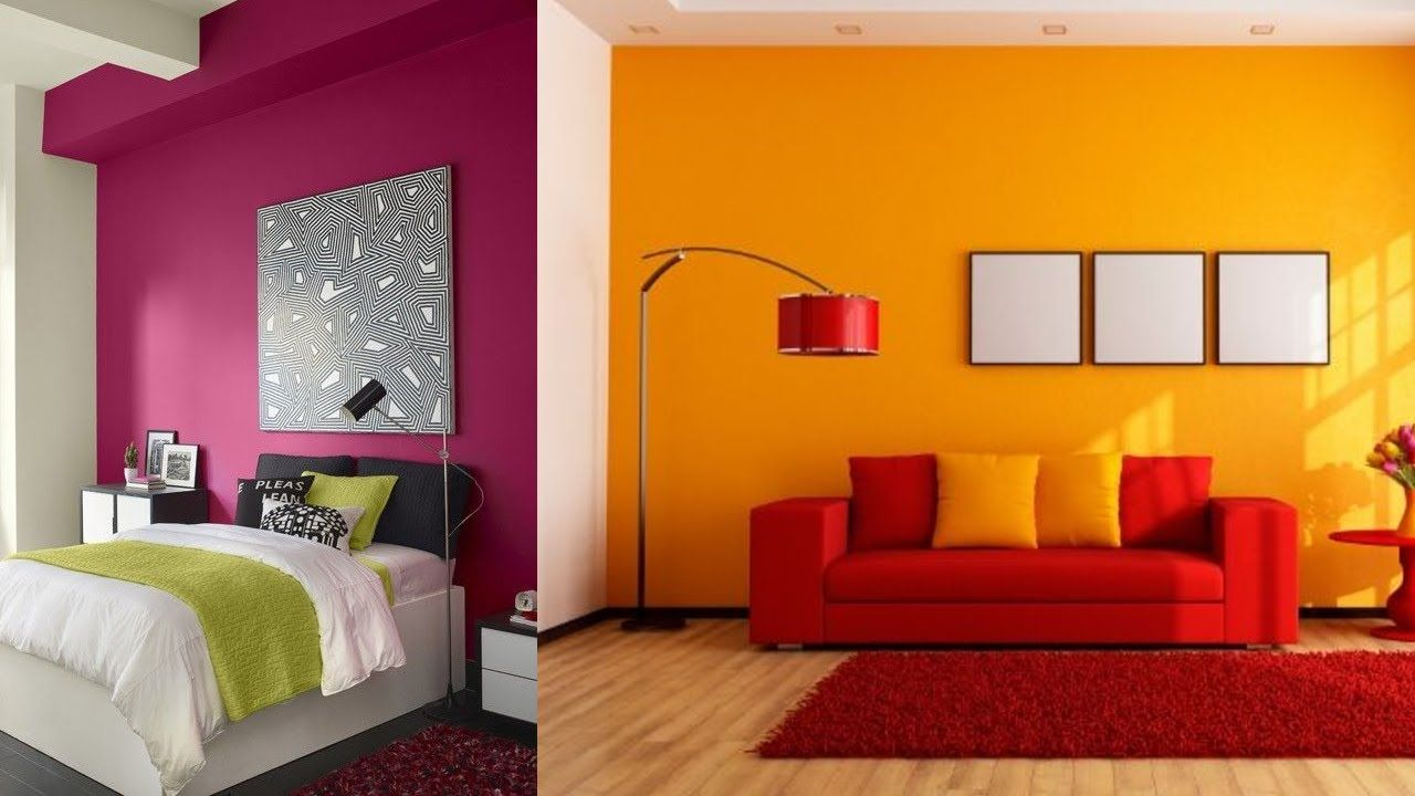 110 modern wall color combination for living room and