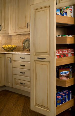 Cabinet Storage Solutions | Storage Cabinetry, Pull Out Pantry
