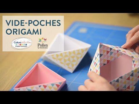 r aliser des vide poche en origami origami and craft. Black Bedroom Furniture Sets. Home Design Ideas