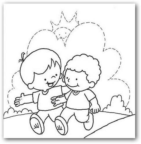 Resultado de imagen para fraternidad para niños para colorear ...