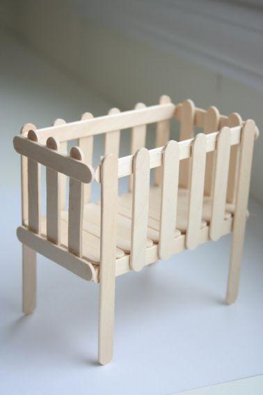 Homemade Dollhouse Furniture | Paletas, Muñecas y Miniaturas