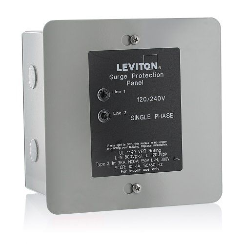 Leviton 51120 1 Panel Protector 120 240 Volt Electrical Supplies