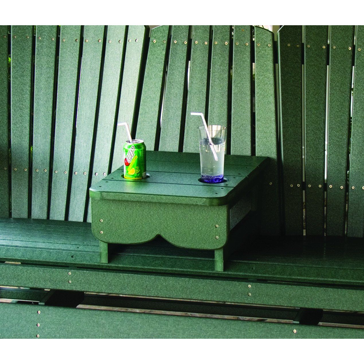 Luxcraft recycled plastic center table cupholder products