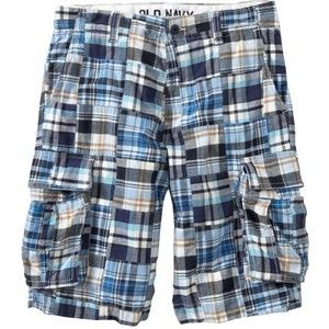 blue plaid shorts. | ~Men's Fashion~ | Pinterest | Mens cargo ...