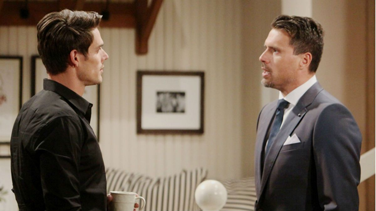 Y&R spoilers tease a Newman war is brewing. #Y&R #CBS #TheYoungandtheRestless