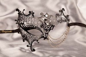 Occhialino Budget Half Face Filigree Phantom Mask