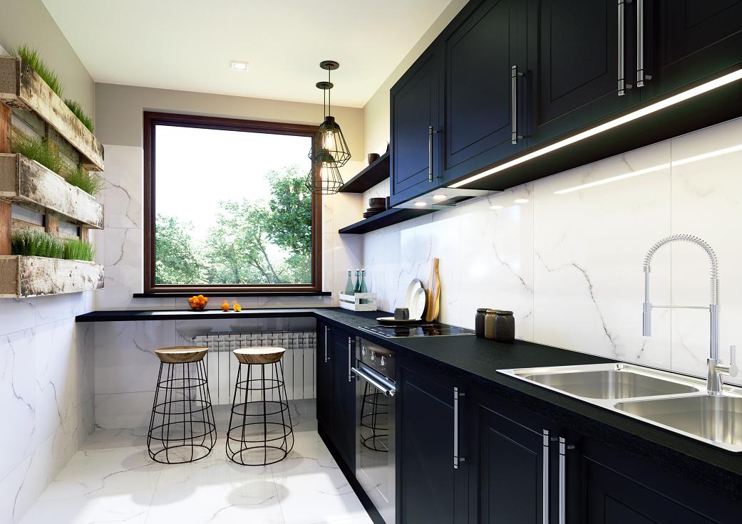 Marmur W Kuchni Kitchen Cabinets Home Home Decor
