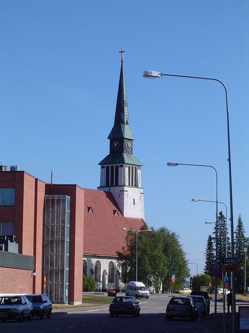 Kostel v Kemijärvi - Kemijärvi – Wikipedia