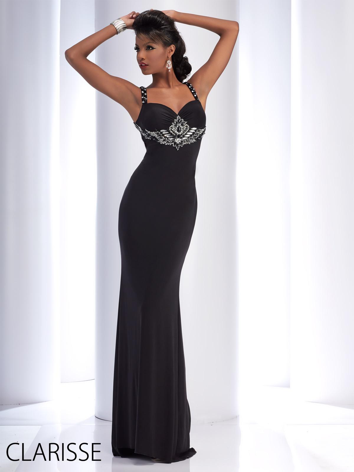 Clarisse 2016 long prom dress style 2759. Unique, beautiful silver ...