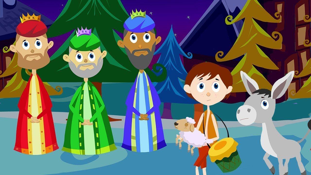 Christmas Carols with Lyrics - The Little Drummer Boy & We Three ...