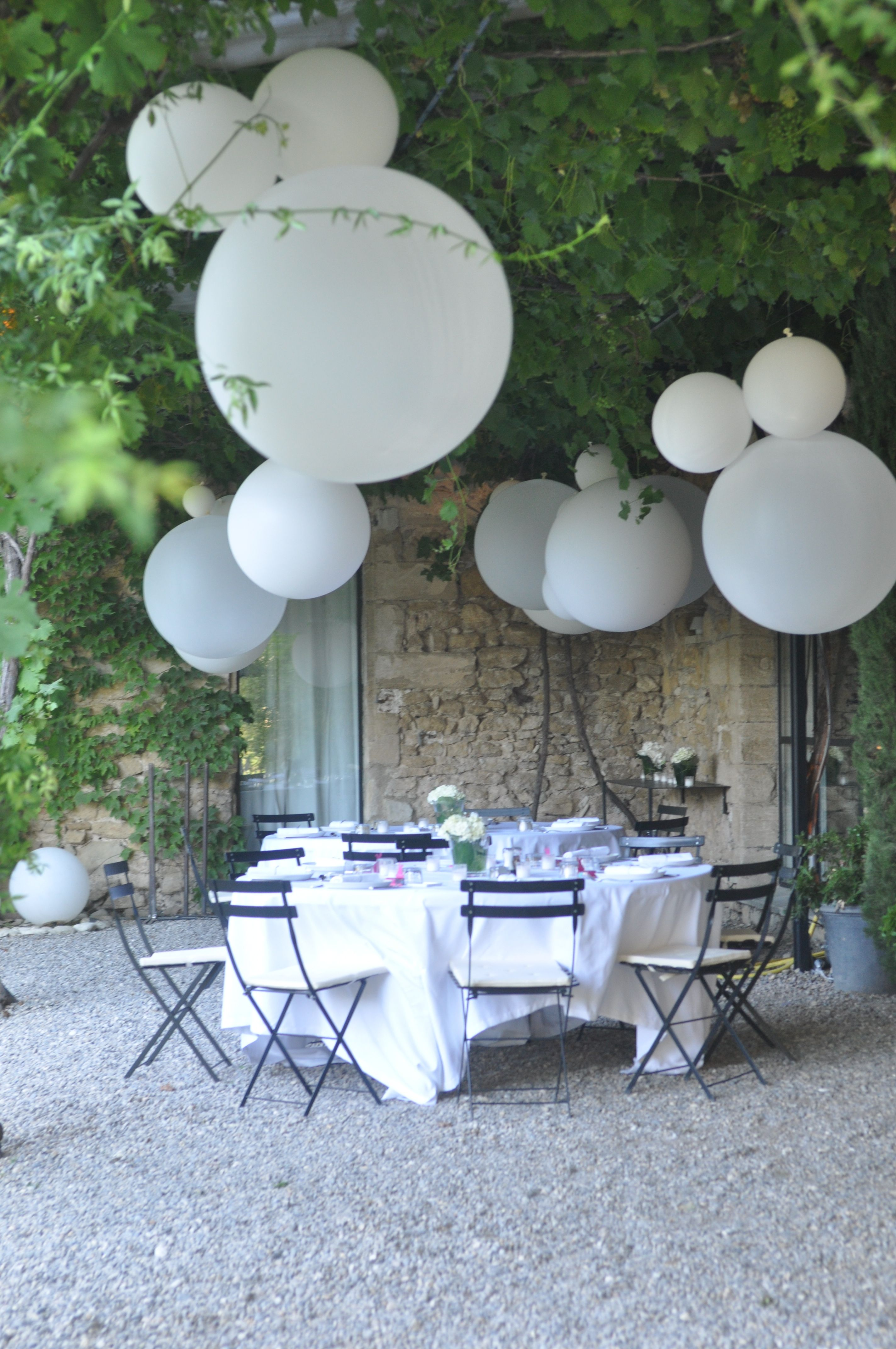 Outdoor Diner Wedding - Under the Pergola - South of France - Provence