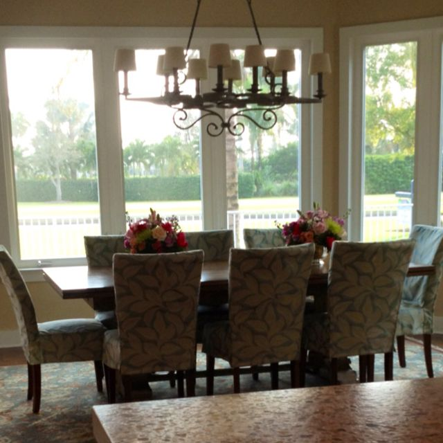 Love How Big The Dining Table Is. Perfect For Large Family And  Entertaining. The