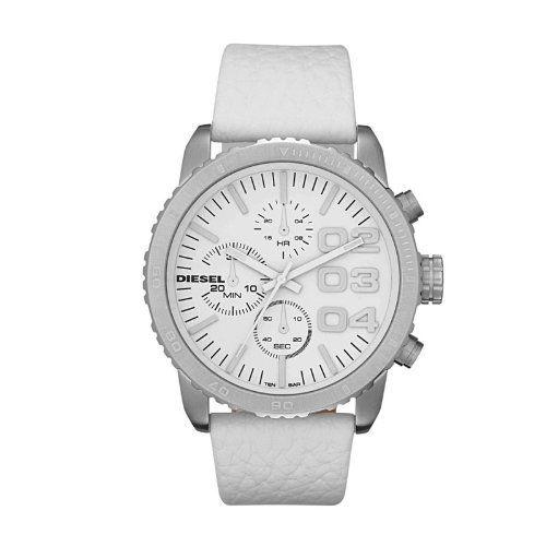 DIESEL Leather Strap Chronograph Watch Diesel. $115.00. DIESEL Leather Strap Chronograph Watch