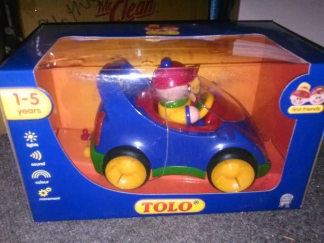Tolo Toys First Friends Car Primary Colors Free Giveaways