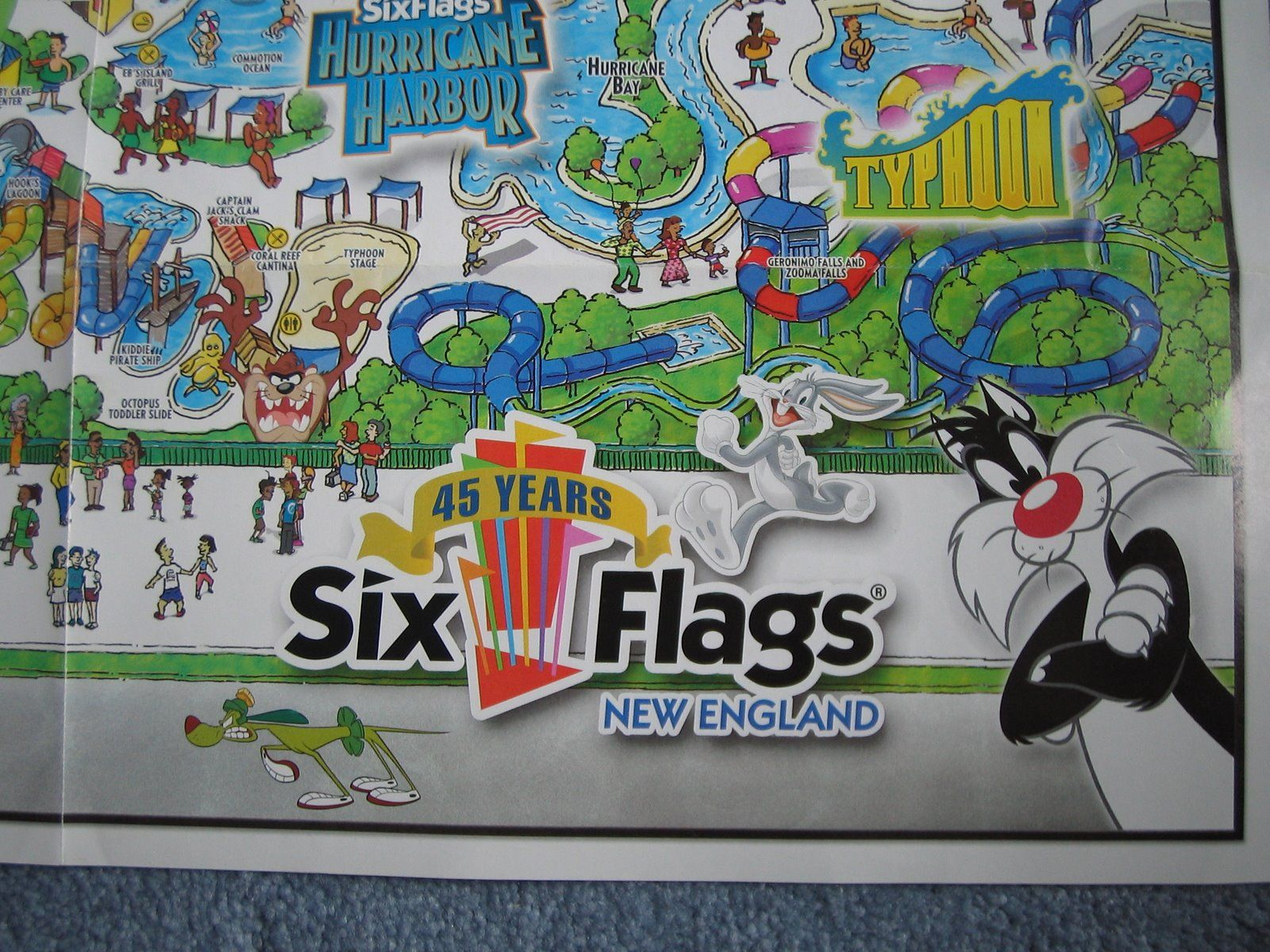 Six Flags New England 3 I Used To Have My Season Passes To 6 Flaggs When I Lived In Ct What A Blast The Water Park I Six Flags America Theme New England