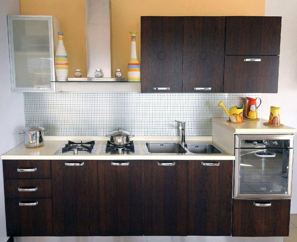 Simple kitchen design, Interior design kitchen, Kitchen design small